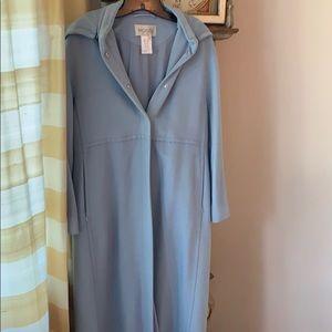Beautiful Mondi pale blue coat. Size 8.